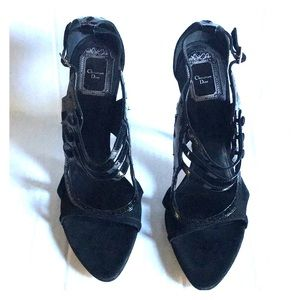 Dior Patent Leather & Suede Size 11 (41)